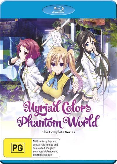 Myriad Colors Phantom World   Complete Series Blu-Ray      The...