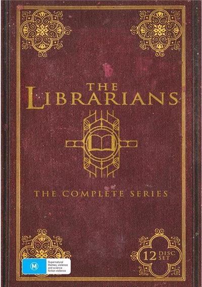 Librarians -Season 1-4 Boxset DVD    Filing evil under history.A group of...
