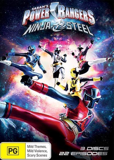 Power Rangers - Ninja Steel DVD     Deep in space, Galvanax is the reigning...