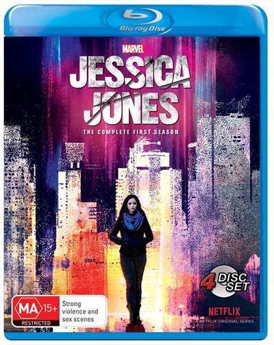 Jessica Jones Season 1 Blu Ray - On Sale Now With Fast Shipping! Jessica Jones, former superhero turned...