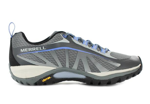 The Merrell Womens Siren Edge Grey is a lightweight outdoors shoe and is excellent for hiking, trail...