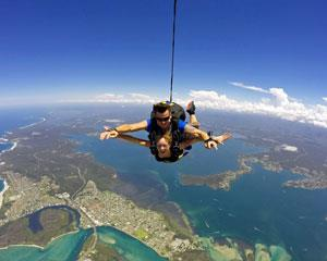 Skydiving is the ultimate Adrenalin rush! Experience the unparalleled thrill of free falling for up to...