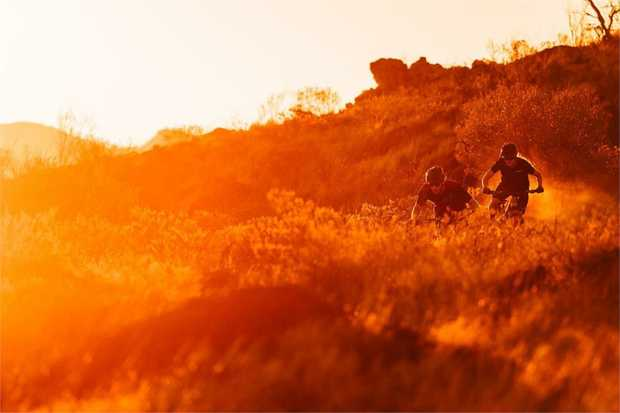 Feeling a bit more adventurous? Experience the desert at sunset and ride through the dusk by bike on...