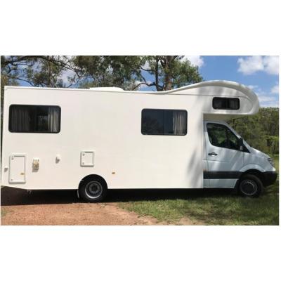 Mercedes Sprinter Campervan    Diesel  Auto  Fridge  A/C  Gas cooker  Island bed...