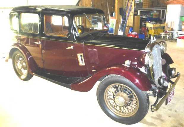 WOLSELEY HORNET 1934   6 Cylinder Sedan, Hydraulic brakes, 3   owners (last since 1977), Older...