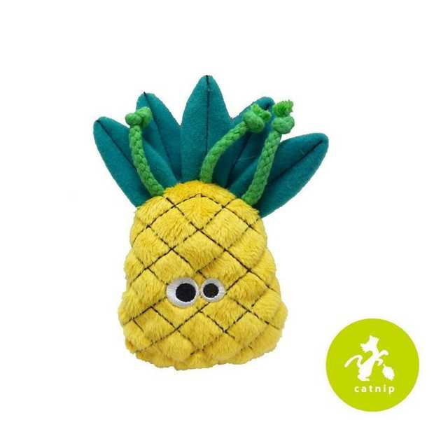 Mad Cat Purrfect Pineapple Catnip & Silverine Cat Toy