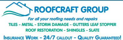 For all your roofing needs and repairs  