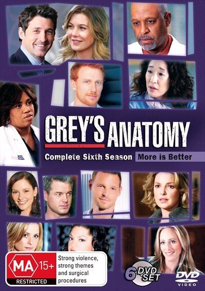 <H3> Grey's Anatomy Season 6 DVD - On Sale Now With Fast...
