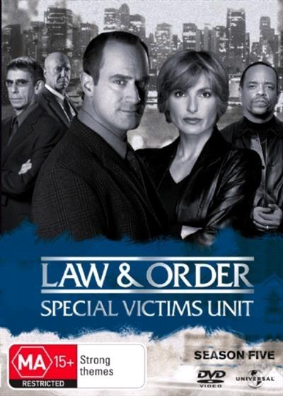 Law And Order SVU Season 5 DVD - On Sale Now With Fast Shipping! Where Risks are Taken>Law &...