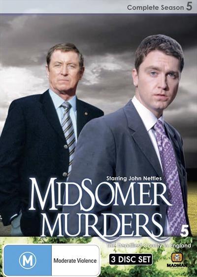 Midsomer Murders - Season 5 DVD Nothing is quite as it seems behind the closed doors of Midxomer...