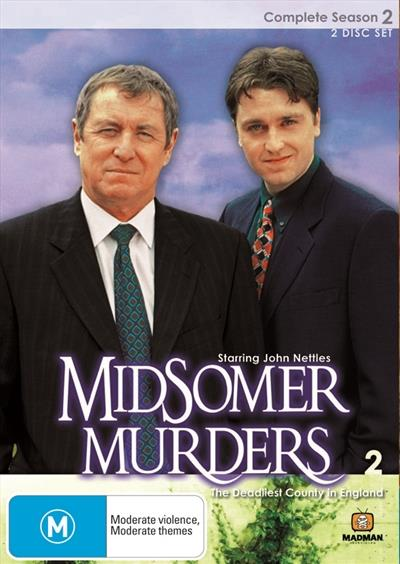Midsomer Murders - Season 2 DVDNothing is what it seems behind the well-trimmed hedges of the...