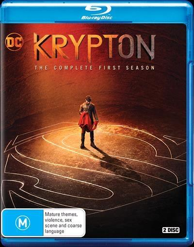 Krypton - Season 1 Blu-Ray      There's more to the Legend.What...