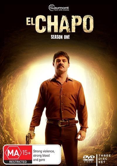 """El Chapo - Season 1 DVD      Joaquin """"El Chapo"""" Guzmn is..."""