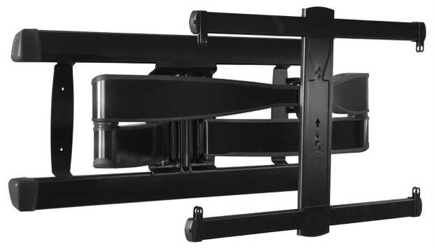 "Fits most TVs from 42"" to 90"" Up to 125 lbs. / 56.7kg capacity Up to 15º of tilt 57º swivel left to..."