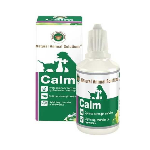 "Natural Animal Solutions ""Calm"" Remedy for Cats & Dogs 100ml"