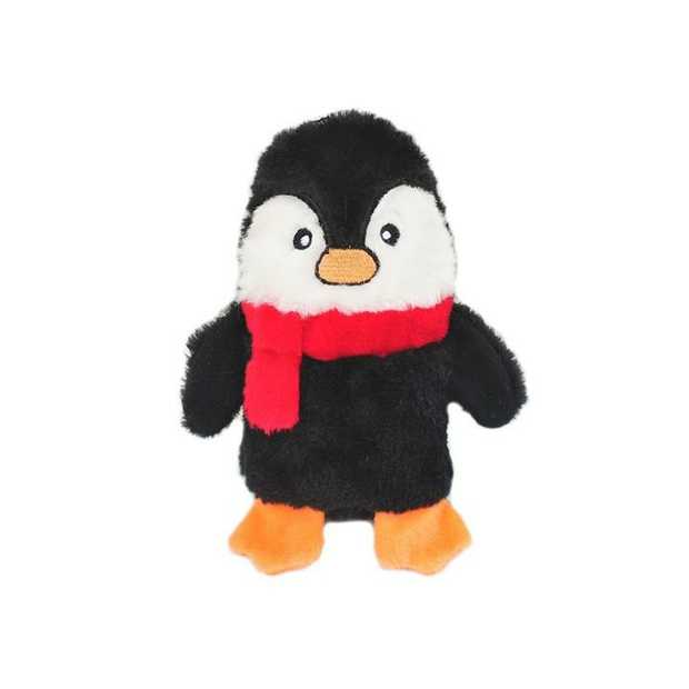 Zippy Paws Colossal Buddie Christmas Squeaker Toy for Dogs - Penguin