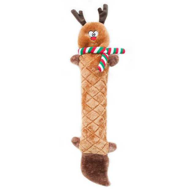 Zippy Paws Jigglerz Shakeable Dog Toy - Reindeer