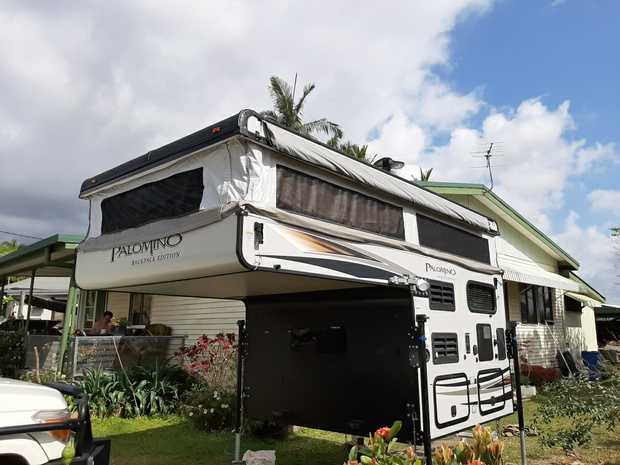 SS-550 Slide on Palomino Camper  