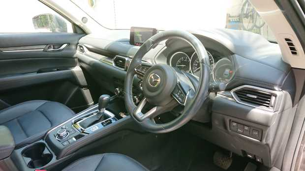 MAZDA CX5 GT 2017,   Auto, Machine Grey, 6,100km Heads Up Display, Driver Alert, Electric...