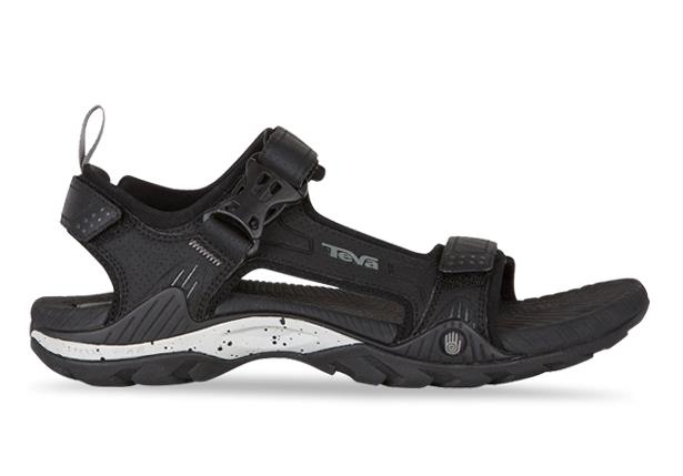 The TEVA Toachi 2 Mens Black sandal offers sturdy support that's built for taking action.