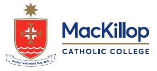 Excellence. Compassion. Service.   Religious Education Co-ordinator   MacKillop Catholic College...