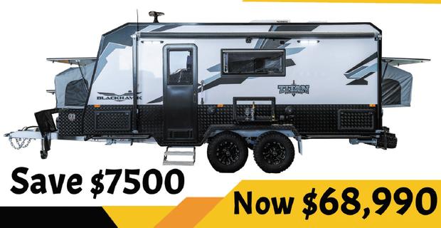 BLACKHAWK 2000 Expander - TITAN CARAVANS   Built Tough - For Aussie Off Road   Finance Tap We...