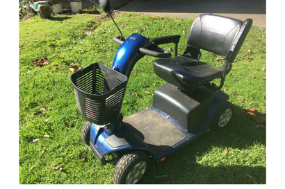 PRIDE Mobility Scooter.  2 x 34 amp hour gel batteries.  $825 ono.  Good condition.  Ph:...