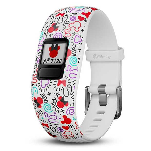 Fits wrists 130-175mm (ages 4+) Swim-friendly kids activity tracker Customizable color screen 1+ year...