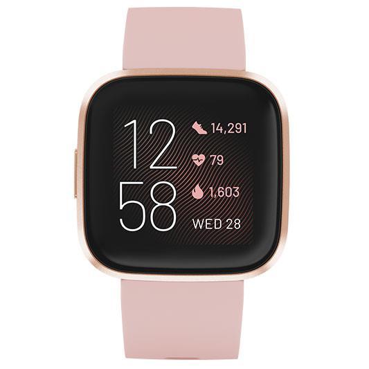 Fitbit Versa 2 Smart Watch - FB507RGPK - Petal/Copper Rose