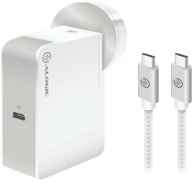 * USB-C technology allows you to charge laptops, tablets and phones with a single charger by using...