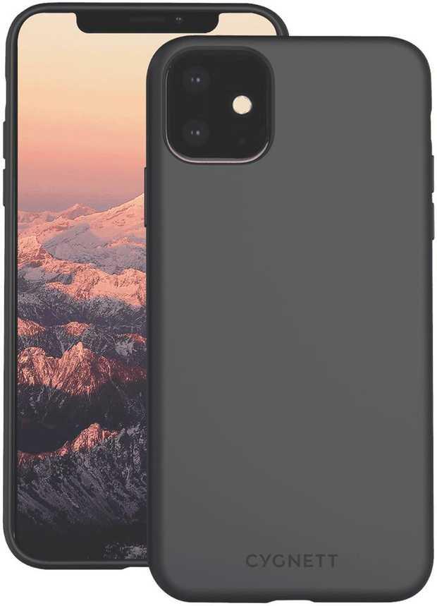 iPhone 11 Soft Feel Case (Black)