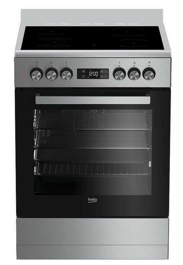 81L Oven Capacity 4 Vitroceramic Cooking Zones 8 Cooking Functions Durable Oven Door Flexible...