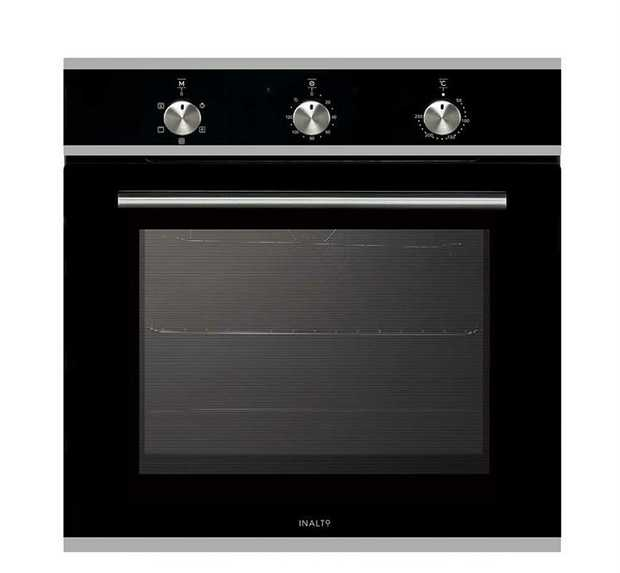 5 functions 65L gross capacity Modern fixed knobs 120 minute minder timer Cavity cooling system...
