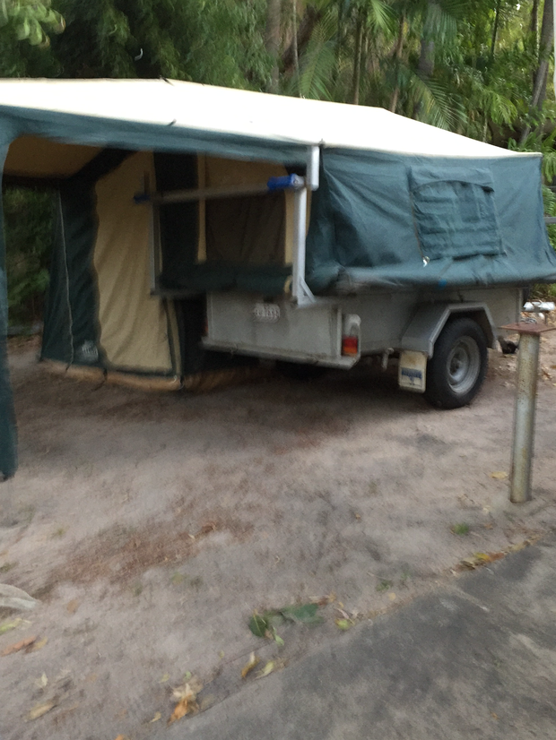 Camper Trailer11 mths Rego. King Bed$26000408457973