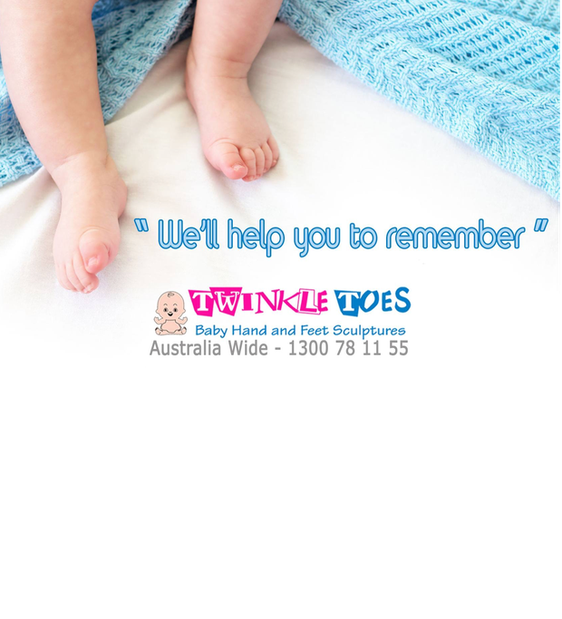 TWINKLE TOES CAIRNS FRANCHISE FOR SALE-Baby Hand & Feet Sculptures - opportunity arises for the...