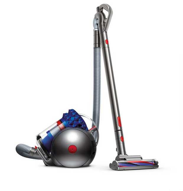 1.6L, high-capacity bin Dyson Cinetic science No dirty filters to wash or replace Carbon fibre turbine...