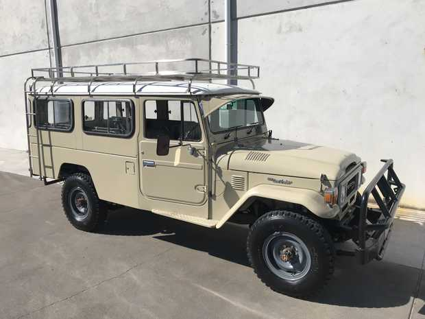 Toyota Landcruisers 1955 to 1984