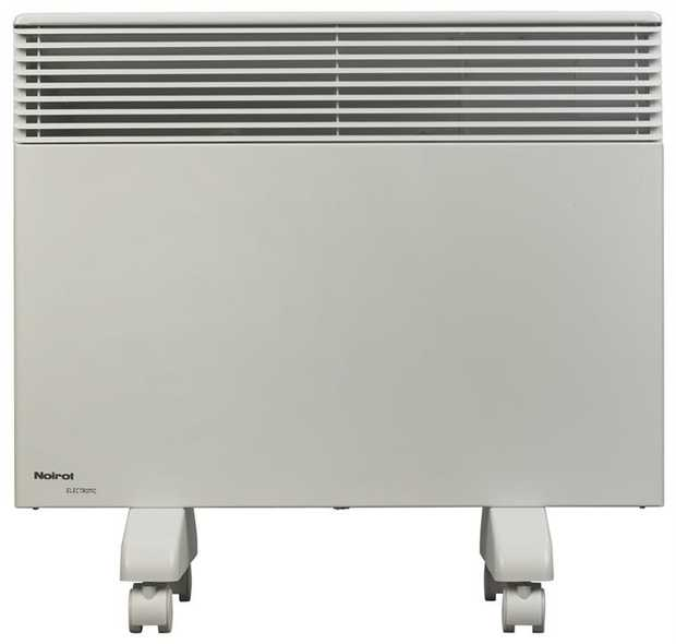Convection heating 5 comfort settings 2 pre-programmed day & night settings Monobloc aluminium electric...