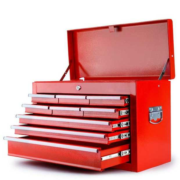 The New Bullet 9 Drawer Tool Chest is the ideal storage solution for all your tools, parts and...