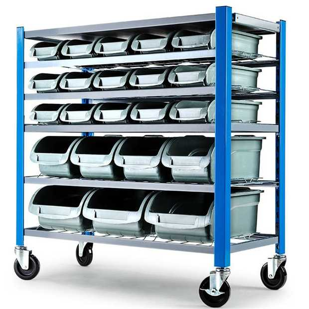 The Baumr-AG 22 Bin Storage Rack is the ultimate solution to your organising and storage challenges.