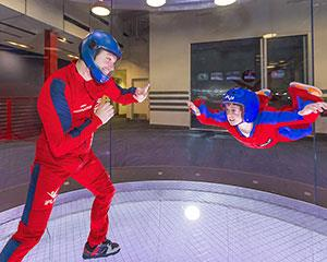 Always wanted to fly? This indoor skydiving package will give you 2 guided indoor flights, full gear...