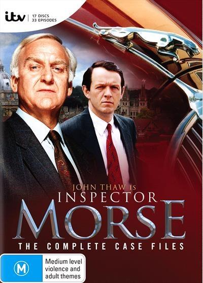 Super slueth, Inspector Morse (John Thaw) has an ear for music, a taste for beer and a nose for crime.