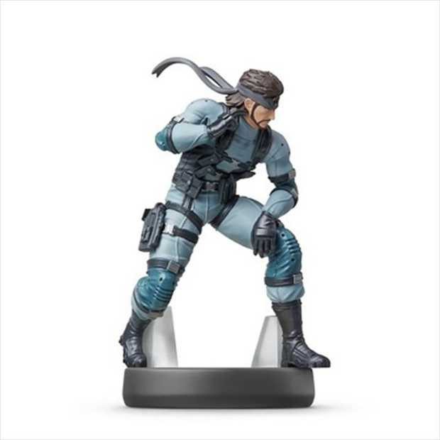 Nintendo amiibo Snake (Super Smash Bros Collection)You can use your Nintendo Switch console to battle...