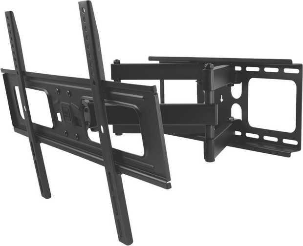 * For 32-84 inch TVs Robust design for optimal support* Full motion, ideal for corners* Spirit level...