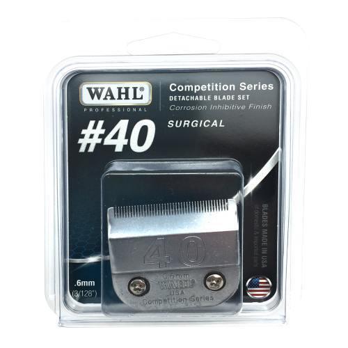 Wahl Bladeset Detachable Blade - #40 .6mm