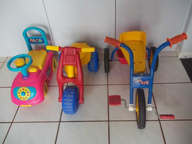 All 3 ride-ons, suit indoor and outdoor Excellent Condition