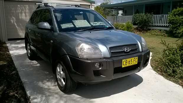 One owner - AWD automatic V6 - 310,000 log books, regularly serviced, rego to March, window tinting...
