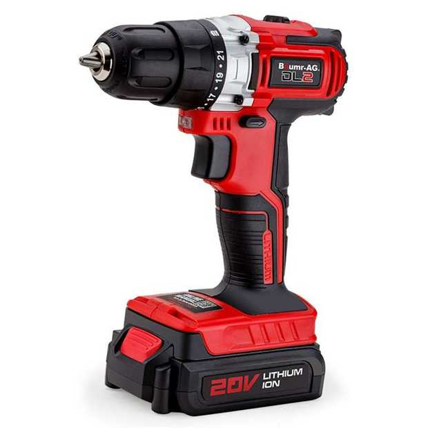Baumr-AG continues to deliver innovative power tools with the NEW Alpha 200 DL2 Lithium Power Drill.