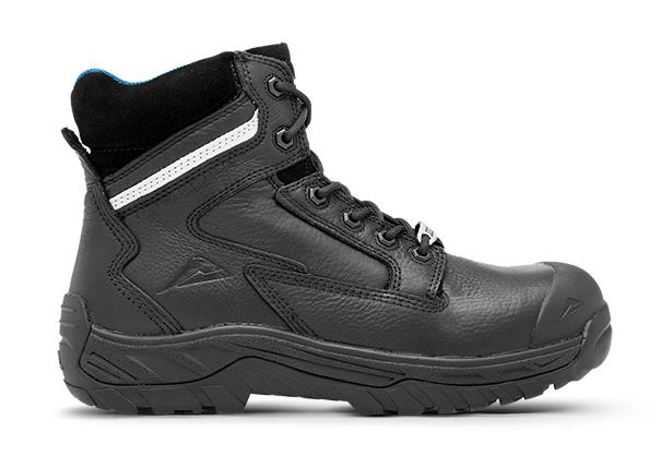 This tough Airport friendly work boot with itsshock-absorbingslip and heat resistant outsole provides...