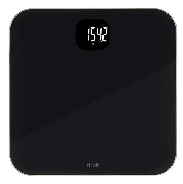 Measures and displays weight on screen Syncs stats to your Fitbit dashboard Simple and accurate Works...
